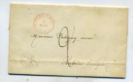 Belgique:  Précurseur De Charleroi Pour Fontaine L'Evêque Mars 1841 - 1830-1849 (Belgique Indépendante)