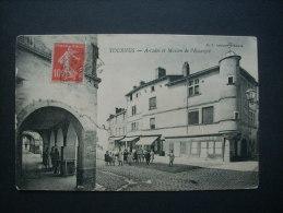 Tournus Arcades Et Maison De L´escargot - Bf  Circulée L207 - France