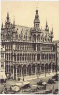 Cpa BRUXELLES La Grande Place Maison Du Roi - Marktpleinen, Pleinen