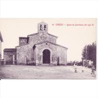ASTRATP2951-LFTD8593.Tarjeta Postal De ASTURIAS.Edificios.,iglesia De SANTULLANO.SAN JULIAN DE LOS PRADOS En  OVIEDO - Asturias (Oviedo)