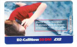 Germany - D2 Vodafone - Call Now Card - Girl - V15.3 - Date 11/02 - Germany