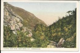 Carte Postale  Etats Unis  : Chappel Pond Road , Near Keene  - N.Y . Adirondacks - Adirondack