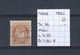 Noorwegen 1883 - Yv. 36/Michel 51 Gest./obl./used - Norvège