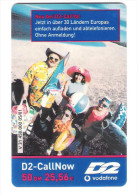 Germany - D2 Vodafone - Call Now Card - On Beach - V31 - Date 11/03 - Germany