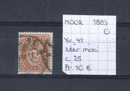 Noorwegen 1883 - Yv. 41/Michel 39 Gest./obl./used - Norvège