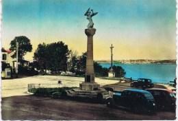 Cpsm  DINARD Place De L Eglise Monument Aux Morts - Dinard