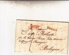 Prefilatelica, Venezia Per Bologna.  Alla Nuova Società Delle Miniere Zolfuree Di Romagna. 1851. In Franchigia - 1. ...-1850 Prephilately
