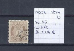Noorwegen 1894 - Yv. 46/Michel 52 Gest./obl./used - Norvège