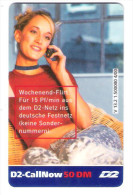 Germany - D2 Vodafone - Call Now Card - Girl On Phone - V13.2 - Date 06/02 - Germany
