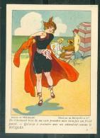 Dessin De Préjelan , édité Par De Ricqlès & Cie  - Il S'étonnent Tous De Me Voir Prendre Mon Bain  ... MALA6501 - Trade Cards