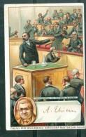 A. Thiers  LE LIB2RATEUR DU TERRITOIRE - Cacao Pur Hollandais Bensdorp Amsterdam  ( Format Cpa )   ... MALA6502 - Trade Cards