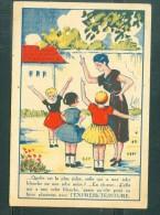 Petit Image Pub /:    La Plus Riche En Robe Avec L'express-Teinture ... MALA6508 - Trade Cards