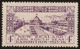 New Zealand Scott #181, 1925, Hinged - 1907-1947 Dominion