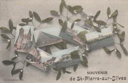 Saint Pierre Sur Dives  - Souvenir - Scan Recto-verso - Other Municipalities