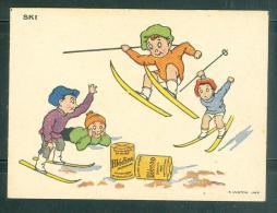 Image - Ski  - Blecao - Dejeubner Instantané à Base De Blédine - Mala6522 - Trade Cards