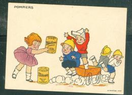 Image - Pompiers   - Blecao - Vite Préparé  - Mala6523 - Trade Cards