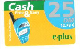 Germany - E-Plus - Free & Easy - Provider Talkline - Date 30.06.2003 - Germany