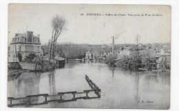 (RECTO / VERSO) POITIERS EN 1913 - N° 49 - VALLEE DU CLAIN - VUE PRISE DU PONT JOUBERT - Poitiers