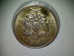 Barbados 5 Cents 1982 TTB - Barbados