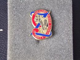 "Insignes Militaire ""2e Régiment De Zouaves  "" -  Military Badges - RARE - Heer"