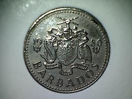 Barbados 10 Cents 1980 - Barbados