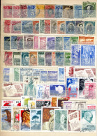 CHILE - Collection Of 186 Different Stamps Used (3 Scans) - Timbres