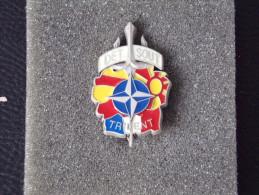 "Insignes Militaire ""DETSOUT - OPEX - TRIDENT "" -  Military Badges - RARE - Landmacht"