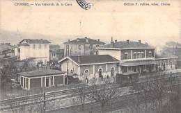 CHASSE SUR RHONE 69 - Vue Générale De La Gare ( SNCF ) - CPA -  Rhône - Autres Communes