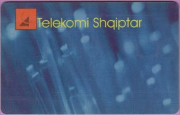 Télécarte Albanie  °°  Telekomi  50  Impulse  :-.   Tirana  V06/97 - Albanie