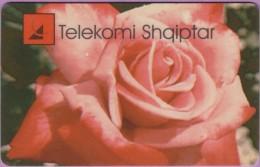 Télécarte Albanie  °°  Telekomi  200  Impulse  :-.   Tirana  V12/96 - Albanie