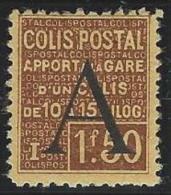 """FR Colis Postaux YT 82 """" Apport à La Gare 1F50 Brun """" 1928 Neuf* - Paketmarken"""