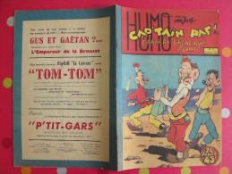 Gus Et Gaëtan. Cap'tain Paf N° 7 . 1952. Grand Pa Gagne Aux Points. Humo. André Rey - Other Magazines