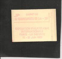 Carnet  2154 C 1 A  Numéroté   Cote 34,00   Neuf Xx - Usage Courant