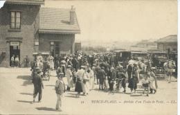 Berck Plage - Arrivée D'un Train De Paris - Berck