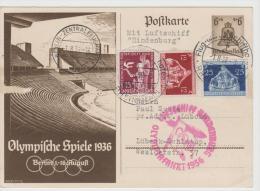Oy096/ Zeppelin - Olympiafahrt 1.8.36 - Summer 1936: Berlin