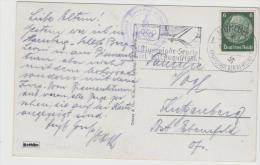 Oy141 / Maschinenstempel Werbung Für  Die Segelwettkämpfe In Kiel 1936