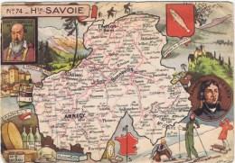 Haute  Savoie - Landkaarten