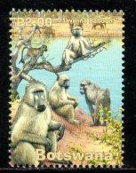 BOTSWANA. N°869 De 2001. Babouin. - Apen