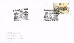 14512. Carta PUERTO De La CRUZ (Canarias) 1999. Framacia, Von Humbold - 1931-Hoy: 2ª República - ... Juan Carlos I