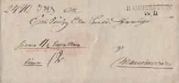 Brief L2 Hammerstein 26.11. Gel. Nach Marienwerder - Deutschland