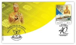 Malaysia 2014 FDC Sultan Pahang - Pahang