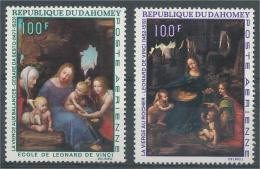 Dahomey (Benin), Virgin Mary, Paintings, 1969, MNH VF  Airmail - Benin - Dahomey (1960-...)