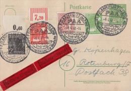 Gemeina. GS Eilbote Mif Minr.943 OR,945 OR,946956 SST Frankfurt  6.4.48 - Gemeinschaftsausgaben