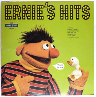 RARE Disque Vinyle 33T SESAME STREET - ERNIE'S HITS - CRA CTW 22056 1974 RUE SESAME - Disques & CD