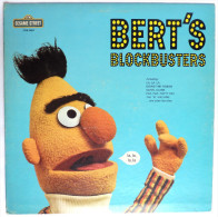RARE Disque Vinyle 33T SESAME STREET - BART'S BLOCKBUSTERS - CRA CTW 22051 1974 RUE SESAME - Disques & CD