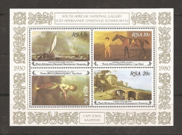 AFRICA DEL SUR 1981 - Yvert #H10 - MNH ** - Blocs-feuillets