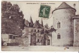 Cpa  Chateau De Nexon - Otros Municipios
