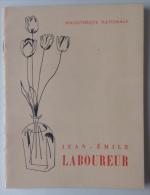 Brochure Jean Émile Laboureur - Bibliotheque Nationale - Vieux Papiers
