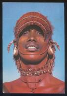 Kenia *Samburu Warrior* Ed. Kas Co. Nº 110. Circulada 1992. - Kenia
