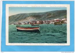 TIBERIADE-vue Du Lac Génézareth-barques Et Habitations-editions Cv Imberger -jérusalem - Palestine
